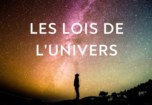 les lois de l'univers